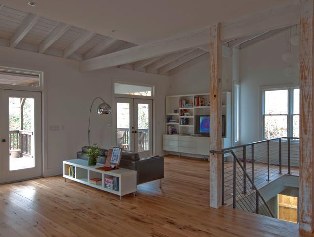 Updated upper living room area