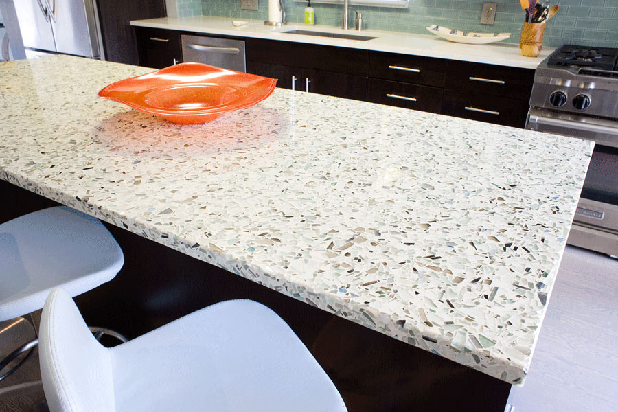Why Choose A Recycled Glass Countertop Vetrazzo Q A